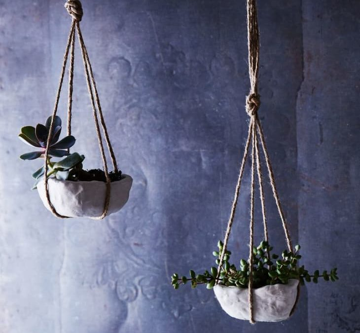11 Hanging Planters You Can Make Yourself