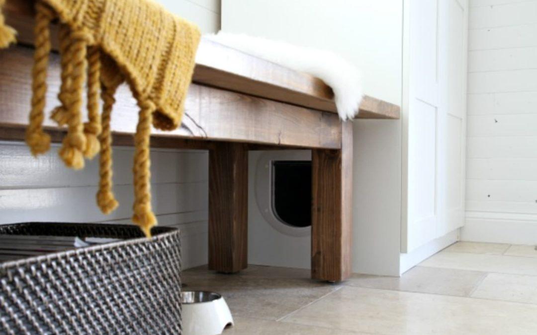 7 Purr-fect DIY Ways to Hide the Litter Box