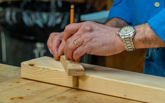 DIY Center Finder for Woodworking Projects