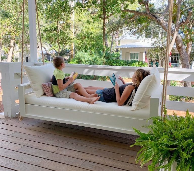 How To Build An Outdoor Hanging Daybed