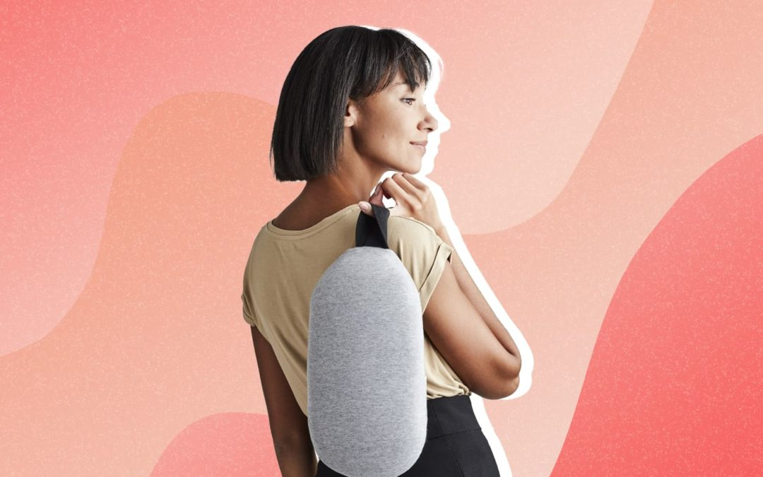 I'm Obsessed With This Pillow That's Part Heating Pad, Part Ice Pack — You Will Be, Too (Bonus: It's On Sale for Prime Day!)