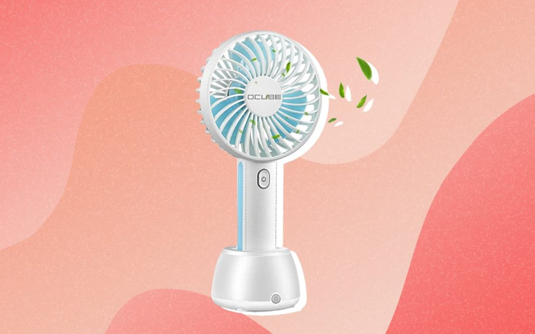 This Handheld Amazon Fan Is an Absolute Must-Have for Summer (and It's on Sale!)