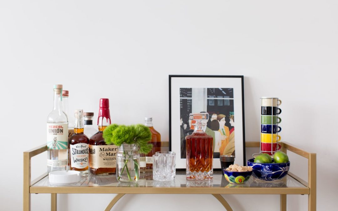 15 Bar Cart Essentials for Creating Perfect Cocktails at Home