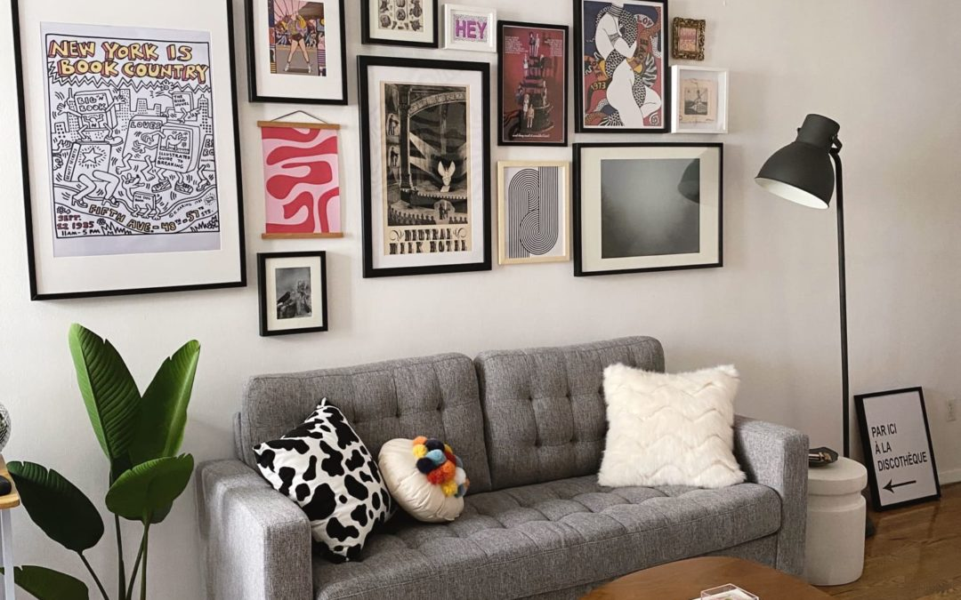 A 300-Square-Foot NYC Studio Is the Perfect Small Space to Live & Work from Home
