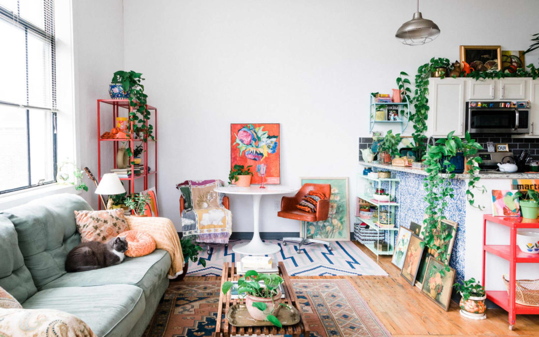 A Rental Apartment in a Former School Is Enviably Art & Light Filled