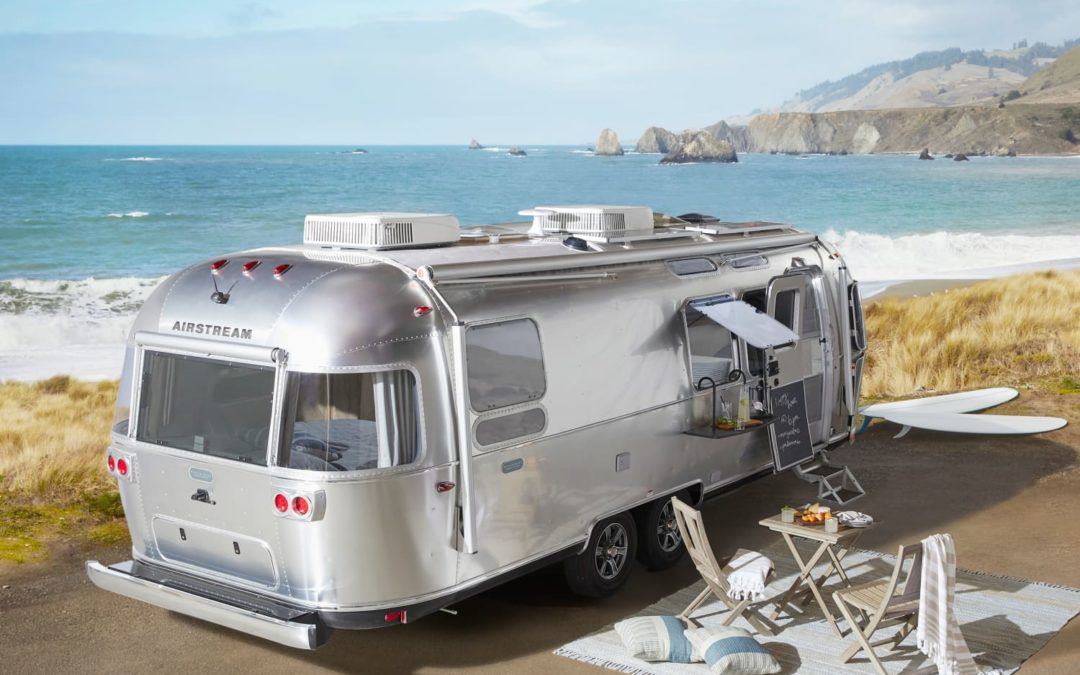Airstream and Pottery Barn Created a Travel Trailer That Sleeps 5