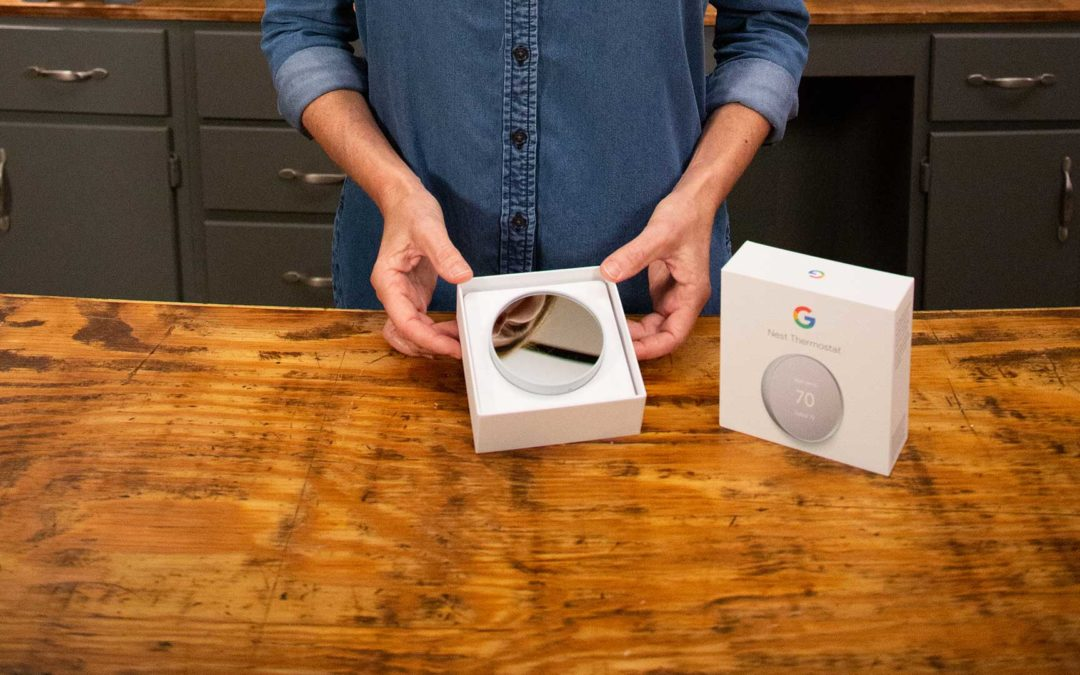 Google Nest Smart Thermostat Goes Hands-Free