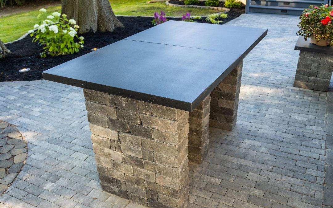 How to Build an Outdoor Countertop