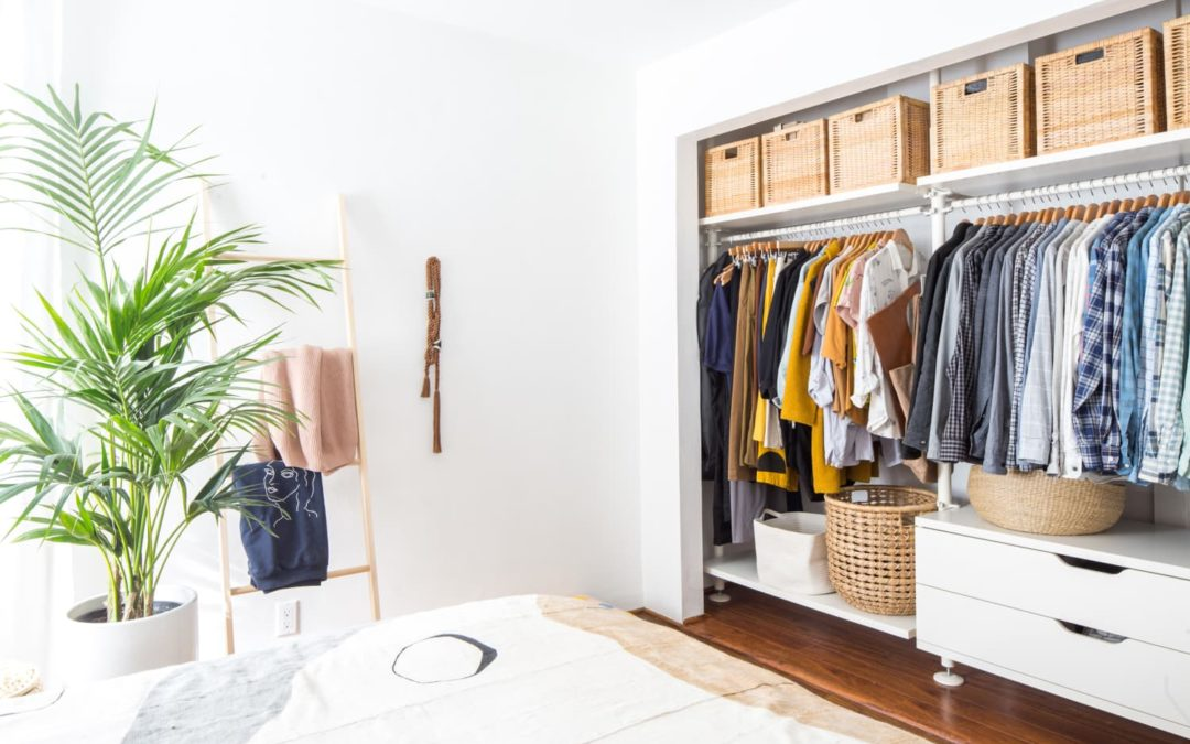 I Added One Tiny (Free) Thing to My Closet and Instantly Started Decluttering My Clothes