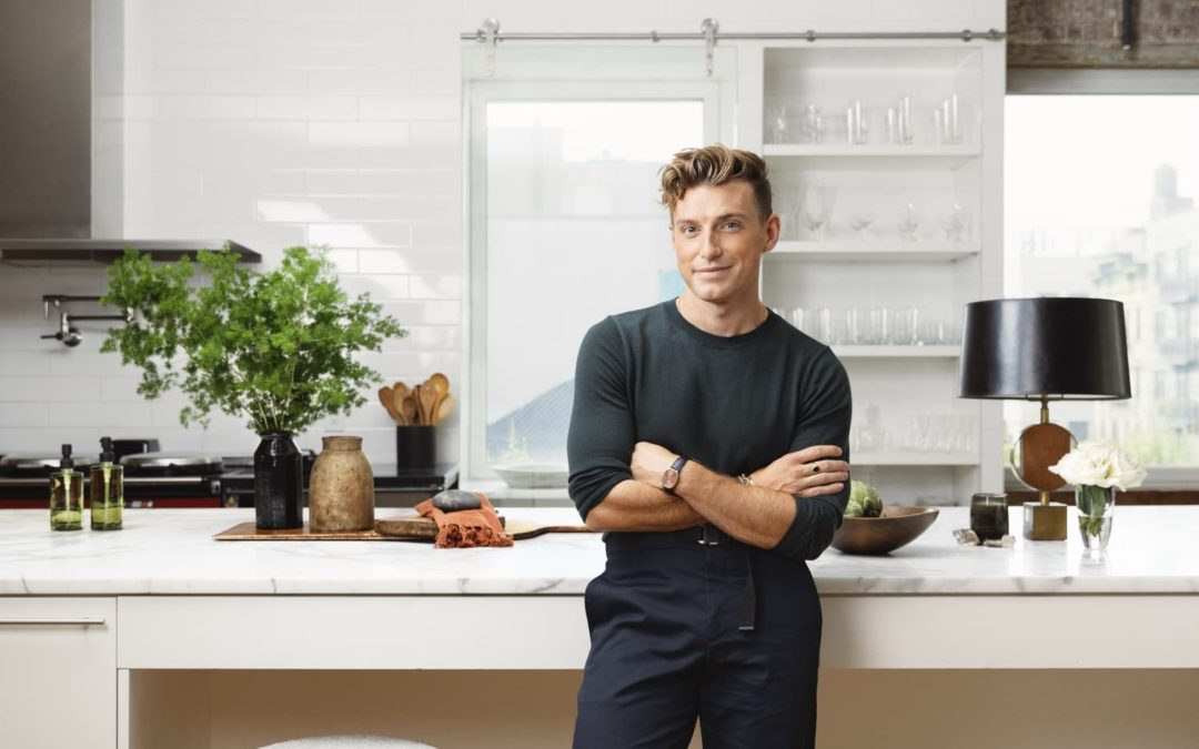 Jeremiah Brent's Marble Fireplace is Stirring Up Excitement on Instagram