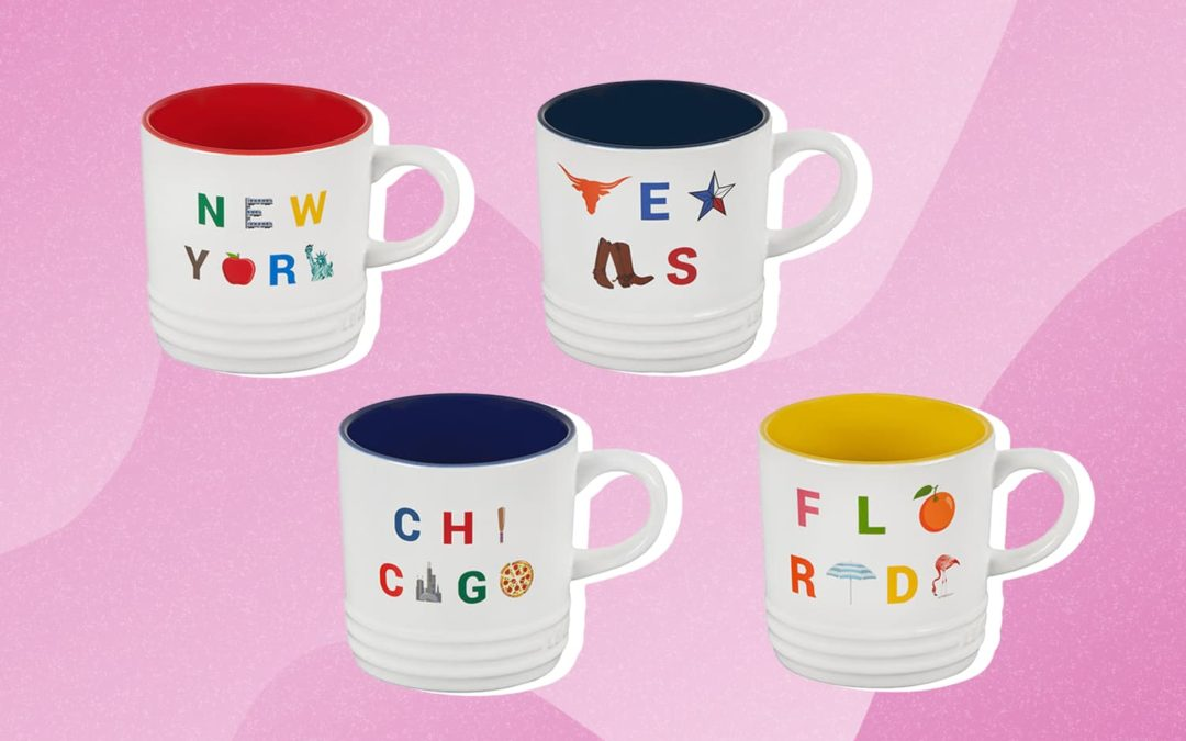Le Creuset Just Launched the Most Fun Limited-Edition Mugs (Inspired By Road Trips!)