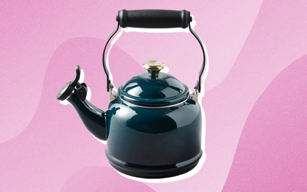 Le Creuset's Tea Kettle Is on Major Sale (and It Comes in So Many Pretty Colors!)