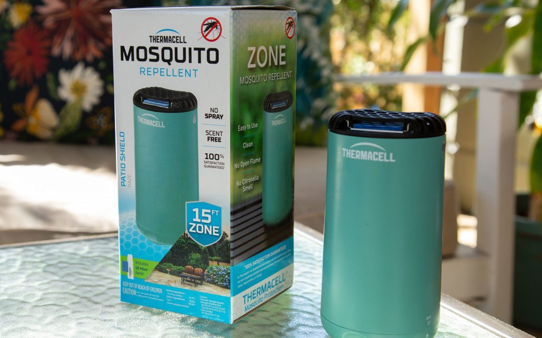 Thermacell Patio Shield Keeps Mosquitoes 15 Feet Away