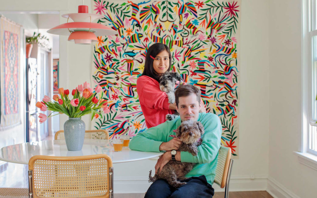 This Cool Chicago Cottage Shows How Colorful a Home with White Walls Can Be