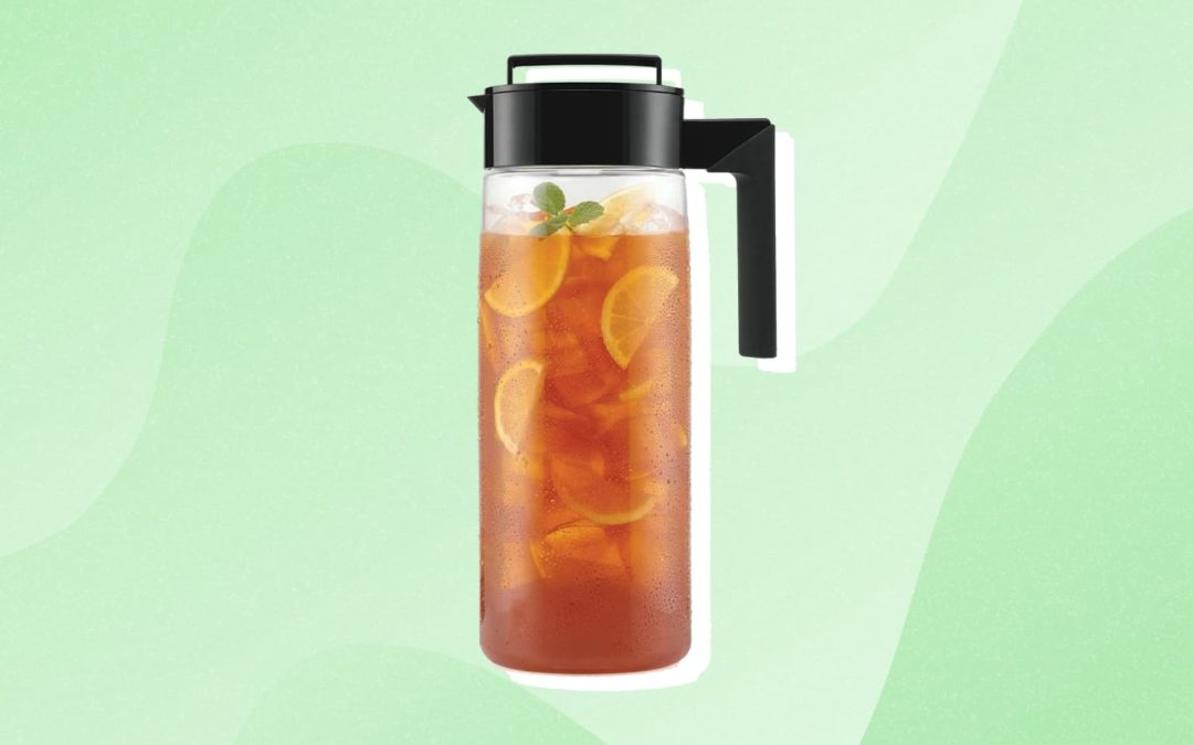 This Editor-Favorite Pitcher Transforms Freshly Brewed Tea into Iced Tea in 30 Seconds Flat