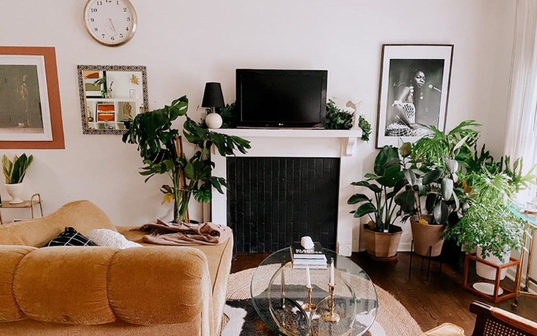 This Elegant and Earthy Home Was Furnished Almost Entirely Secondhand