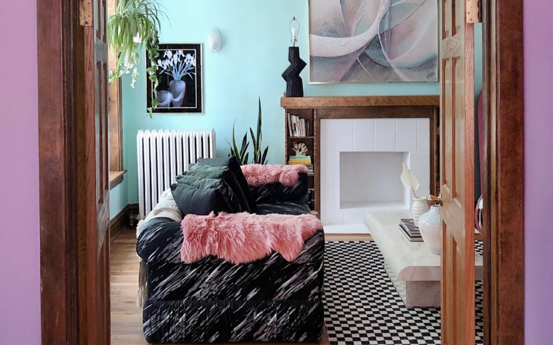 This Incredibly Cool and Colorful Chicago Condo is an Attack on Neutrals