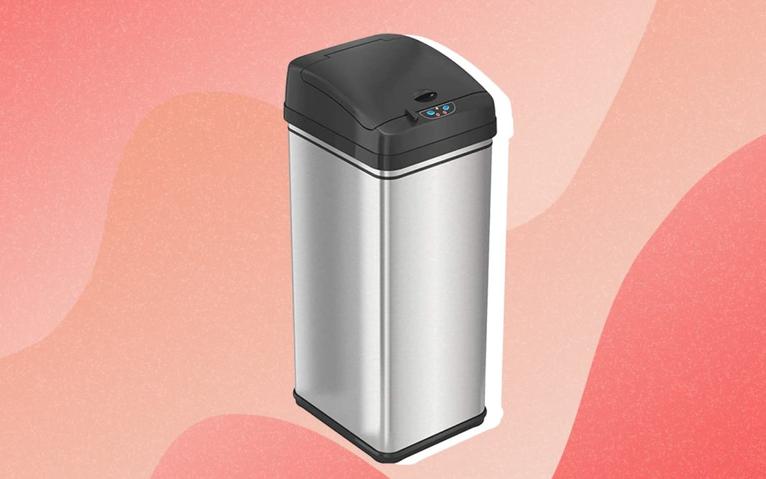This Odor-Absorbing, Touchless Trash Can Has Over 31,000 5-Star Amazon Reviews — and It's 30% Off Right Now