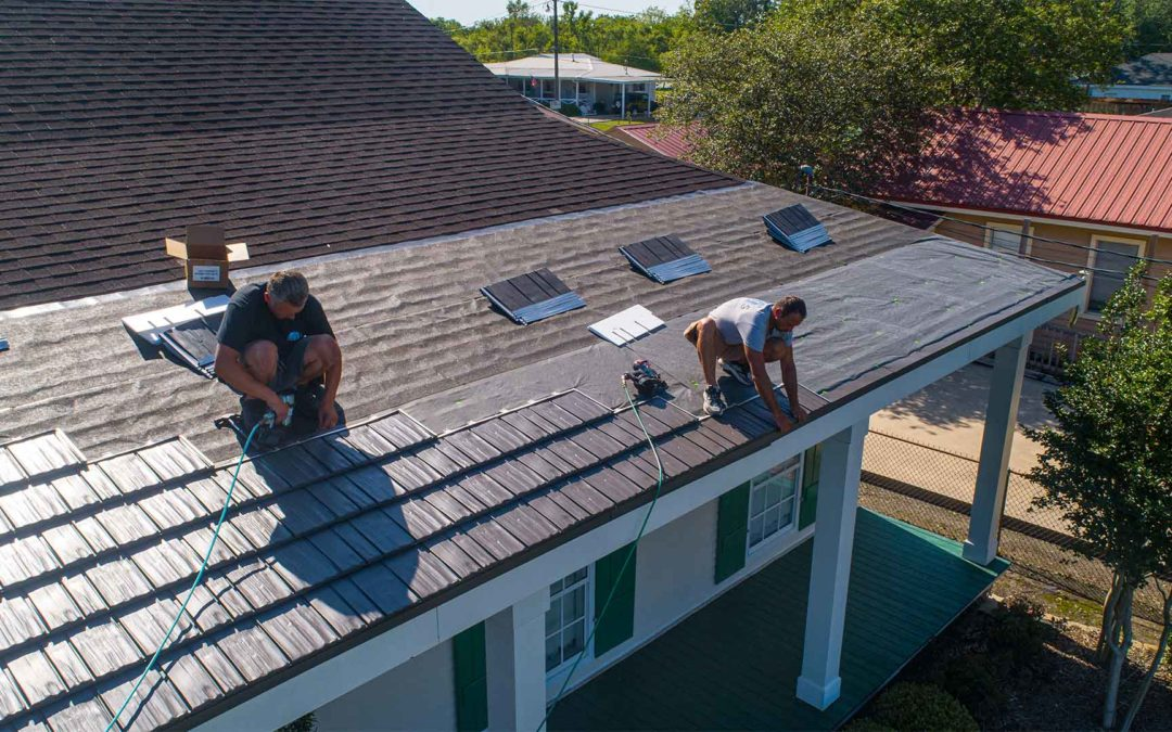 Why Metal is the Best Option for Reroofing Your Home