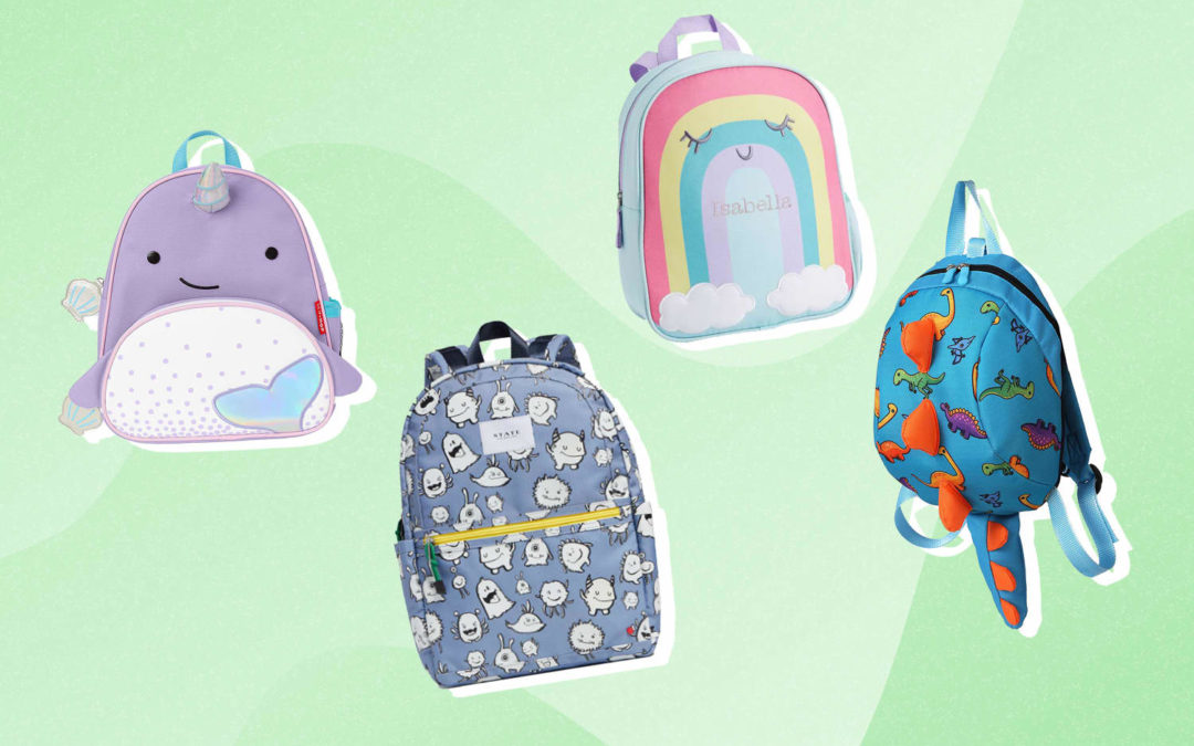 12 Adorable Backpacks for Toddlers and Preschoolers