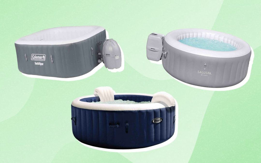 7 Inflatable Hot Tubs That'll Help Extend Outdoor Fun Well Into Fall