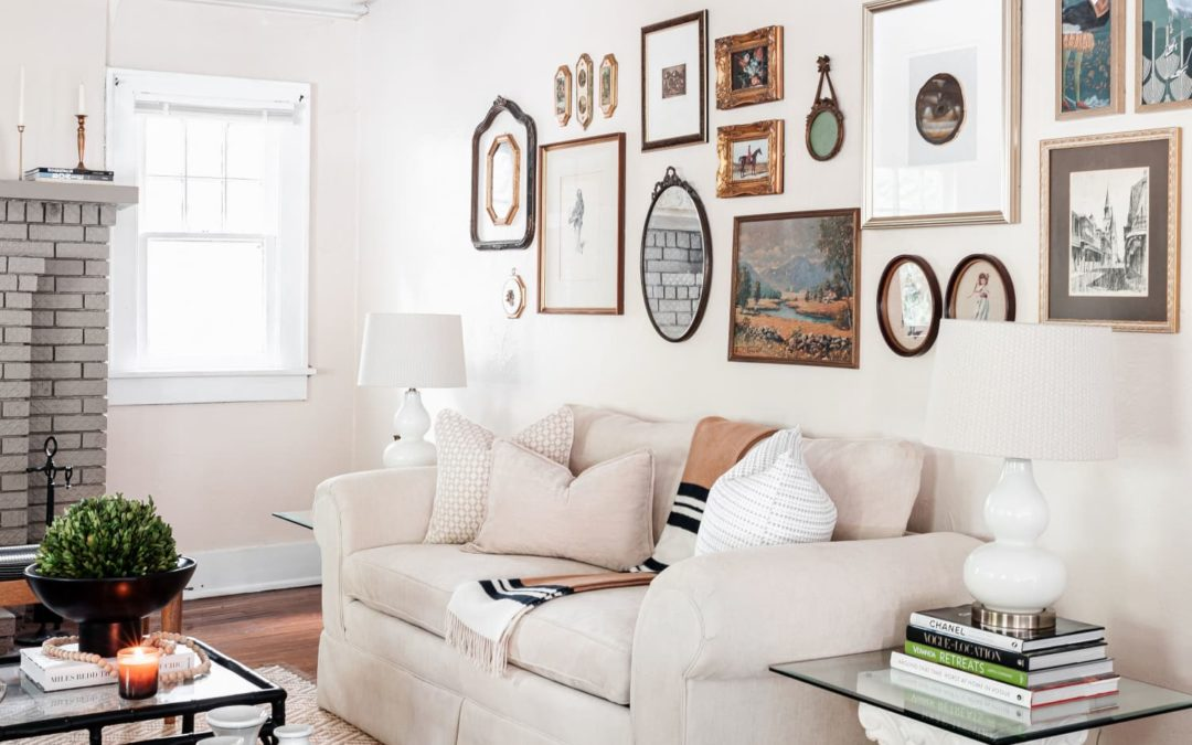 A 100-Year-Old Rental Is an Example of 'Collected Maximalist Grandmillennial'