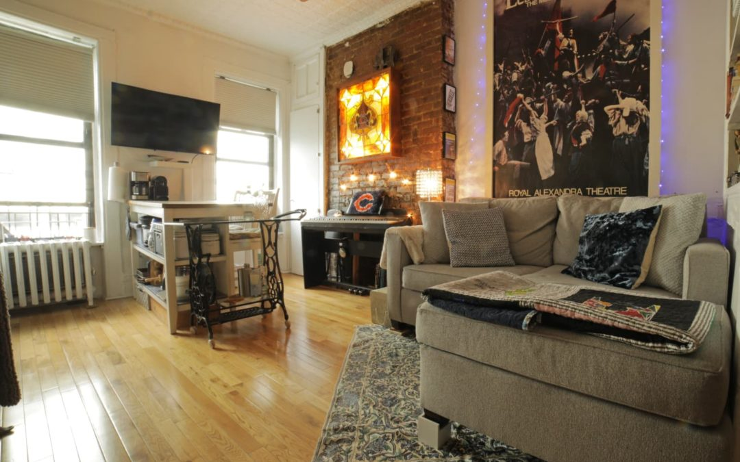 A 219-Square-Foot NYC Studio Is Remarkably Functional and Cozy