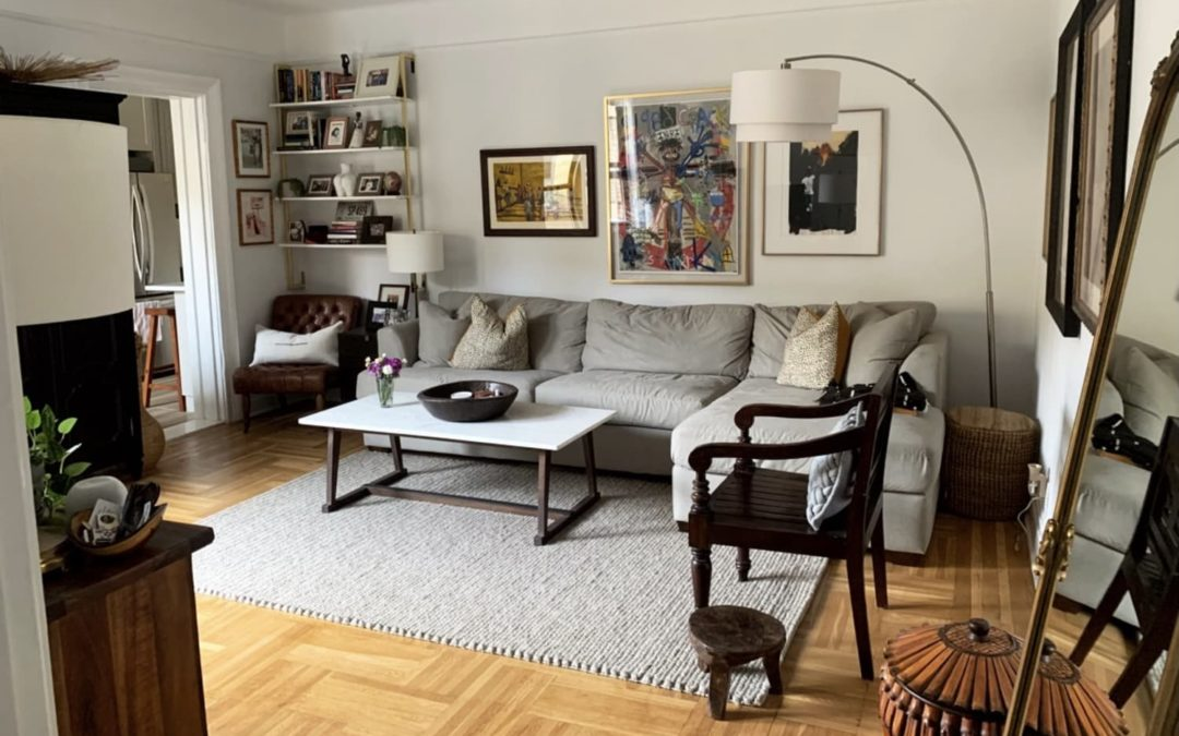 A Small New York Apartment Aces the Cozy, Neutral, and Airy Look