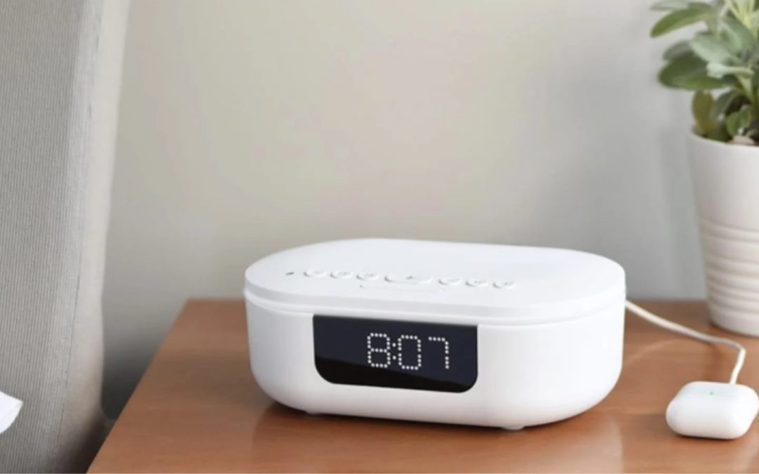 Product Of The Week: Phone Sanitizing Alarm Clock With Bluetooth Speaker