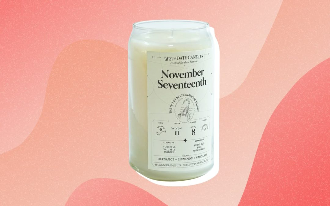 This Customized Birthdate Candle I Received Is the Most Perfect, Stress-Free Gift