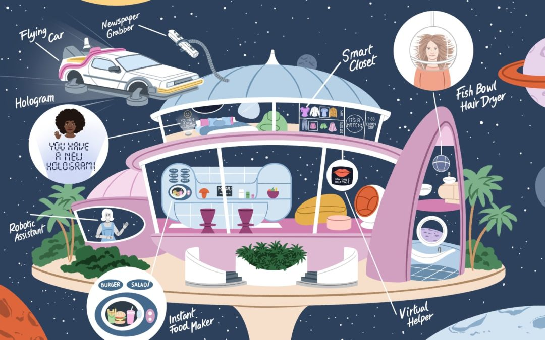 What TV Shows and Movies of the Past Thought Homes of the Future Would Look Like