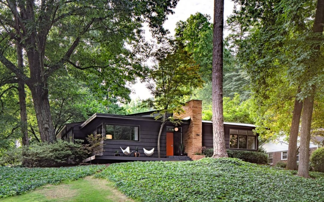 You Need to See Inside This Dazzling Mid-Century Home for Sale in Georgia