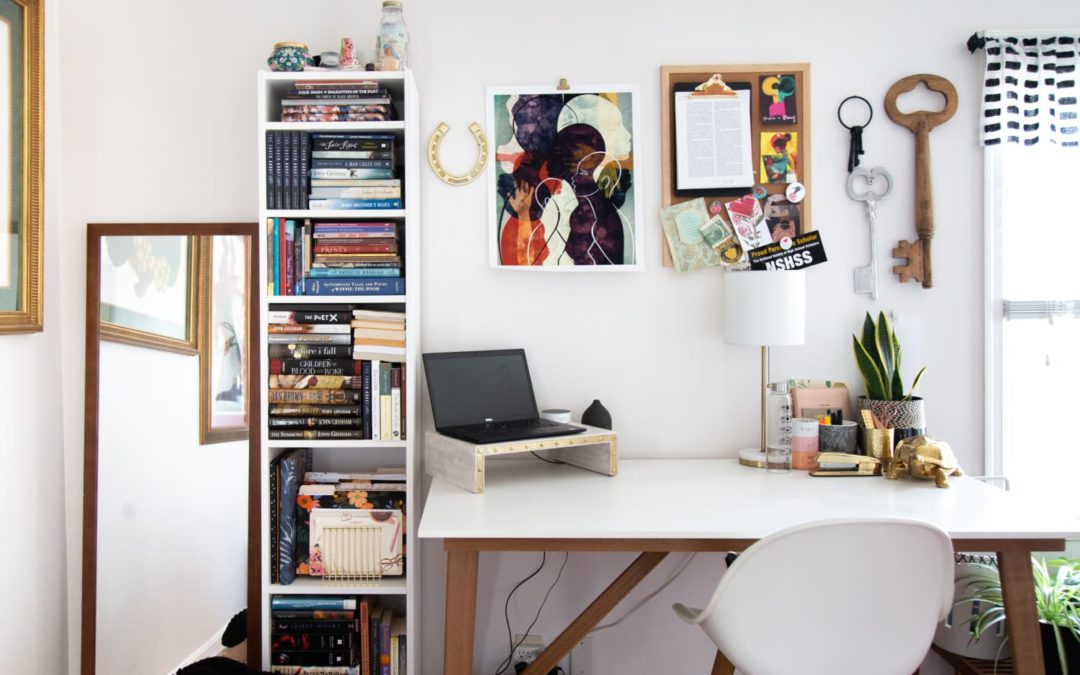 A 5-Step Plan for Getting (and Keeping) Your Home Office Clean & Organized