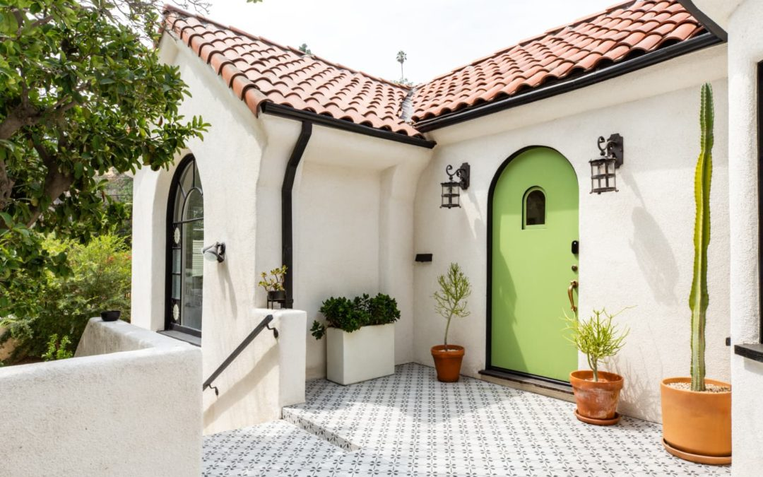 A Small 1929 Spanish House's Remodel Retained Its Charming and Creative History
