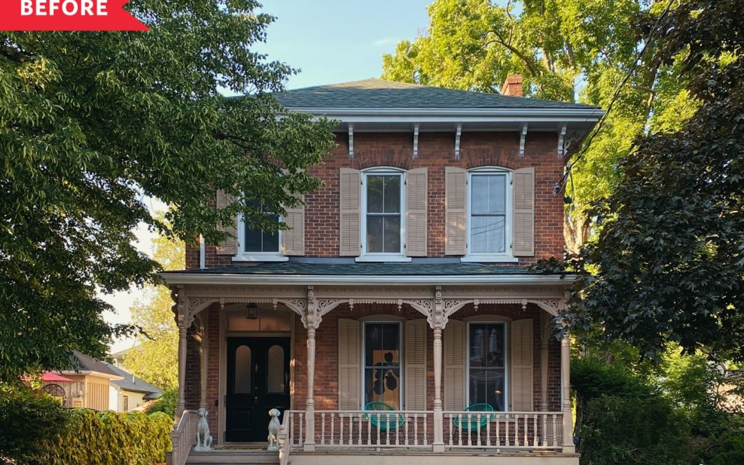 B&A: A Dated 1889 Victorian Italianate's Been Respectfully Brought Back to Life