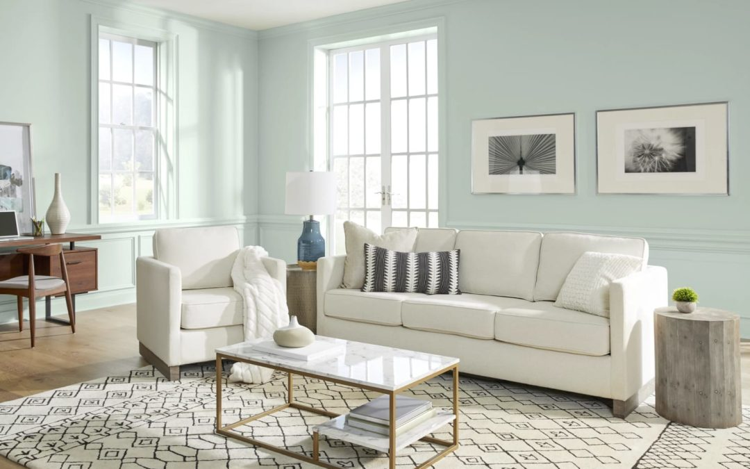 Behr's 2022 Color of the Year Is a Literal Breath of Fresh Air
