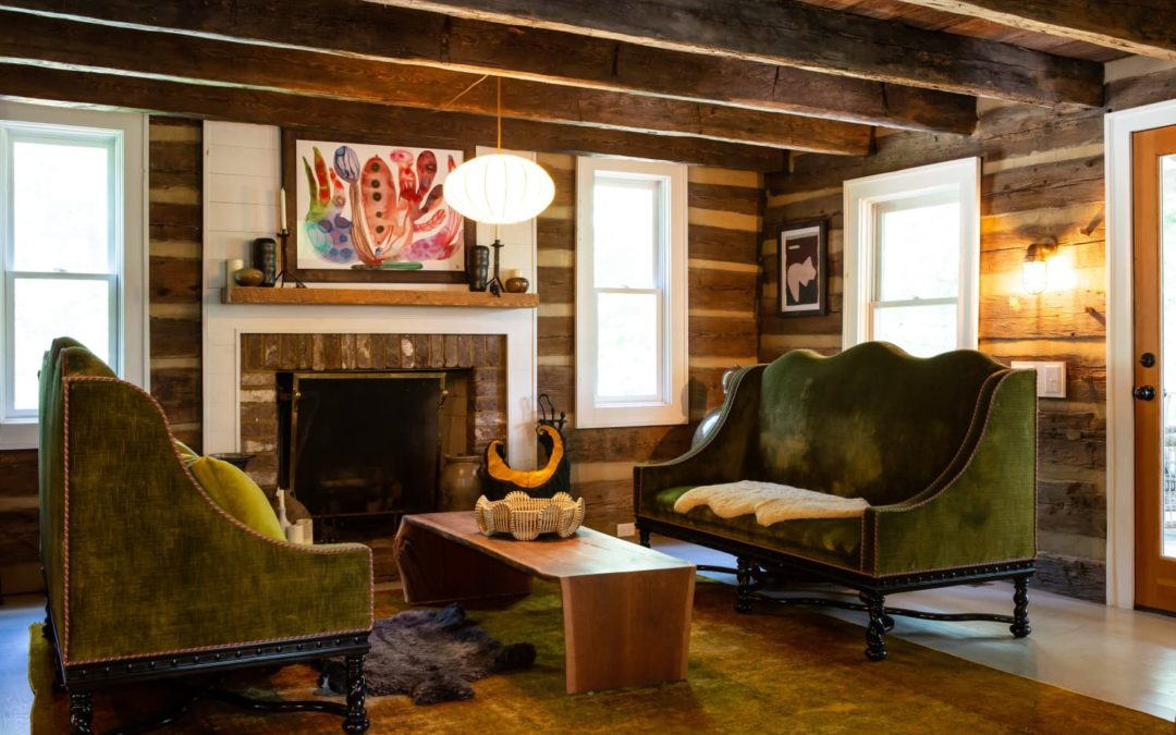 East Fork Pottery's Founders Live in an Incredibly Cute, Cozy Cabin in the Woods
