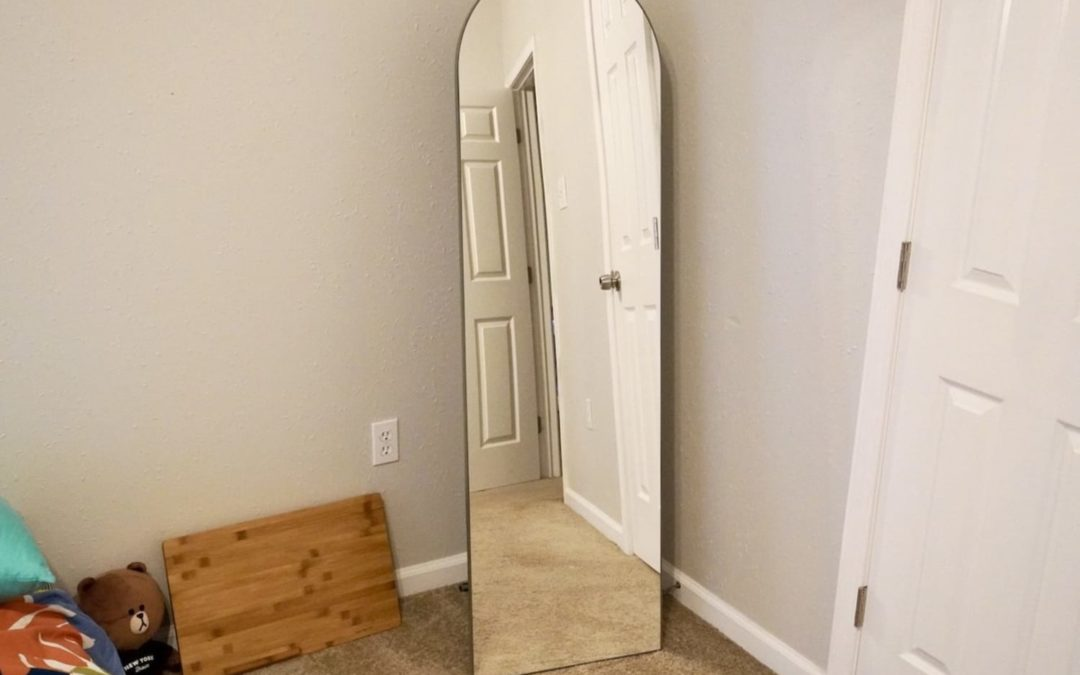 I Finally Found the Perfect Full-Length Mirror — and It Has an Added Bonus