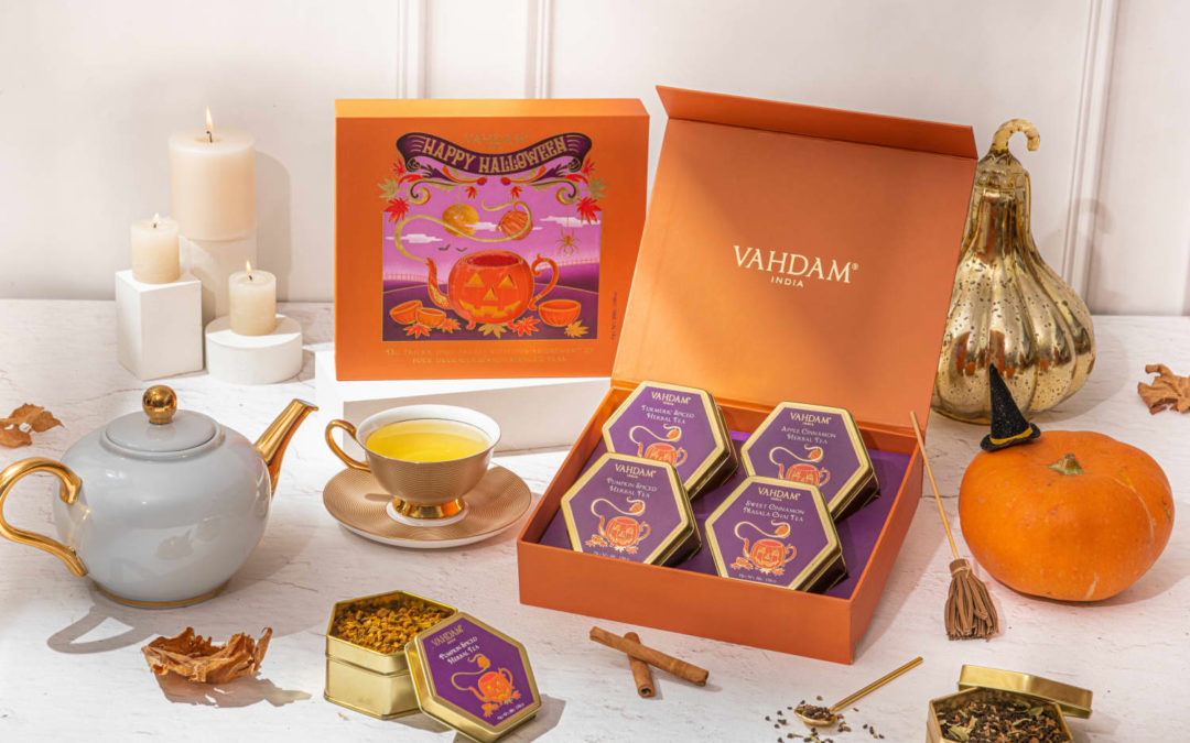 Meet the New Halloween Tea Collection I'll Be Sipping Well Beyond Spooky Season