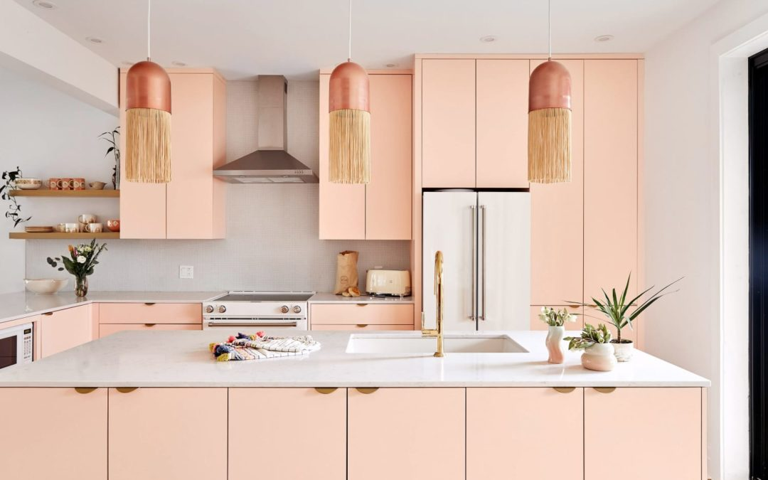 One HGTV Star Thinks Pink Should Be Your Next Kitchen Cabinet Color —Here's Why