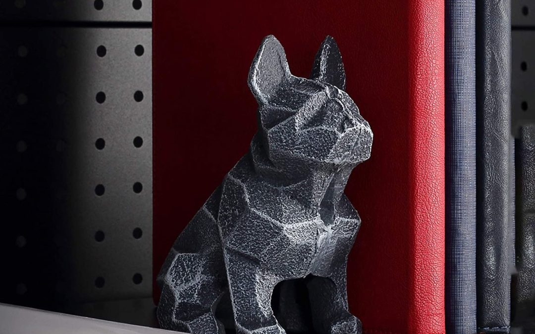 Product Of The Week: Geometric Dog Statue Bookend