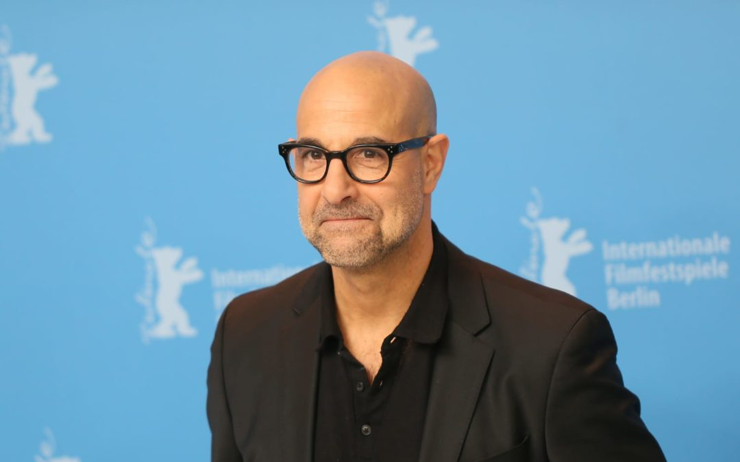 Stanley Tucci's Outdoor Space Is a Rustic, Lush Paradise