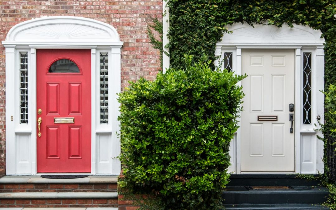The Color You Should Never Paint Your Front Door, According to Real Estate Agents