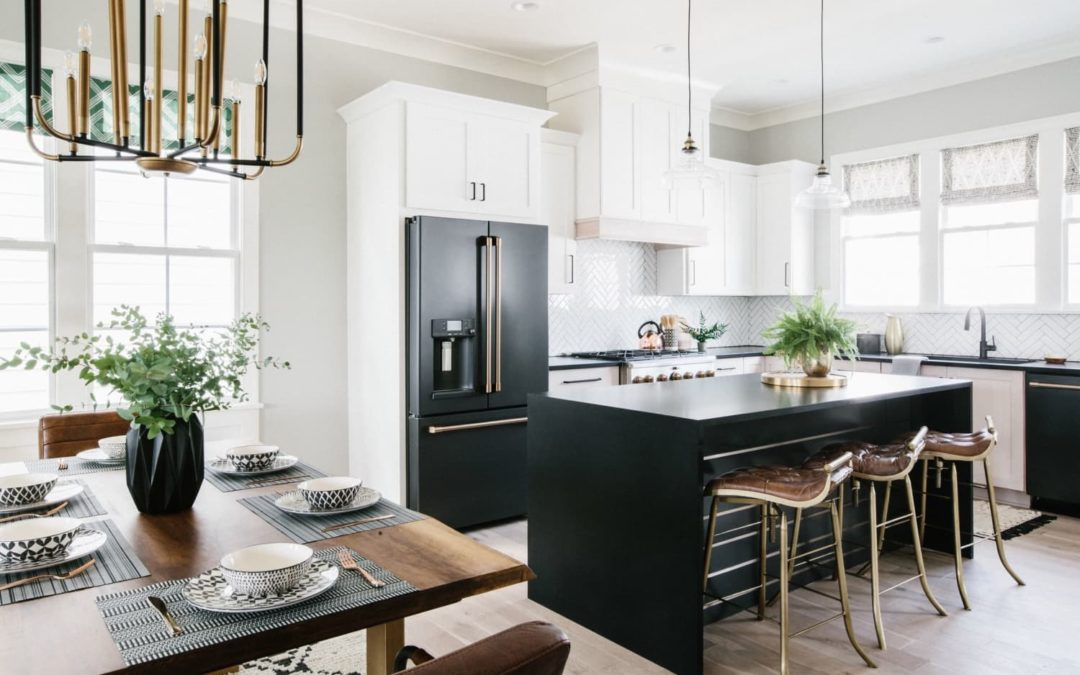 This Kitchen and Bath Trend Is Good for Anyone Looking to Add Shine to a Space