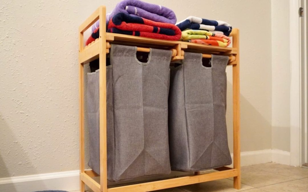 This Popular Laundry Hamper Doubled My Storage Without Taking Up Extra Space