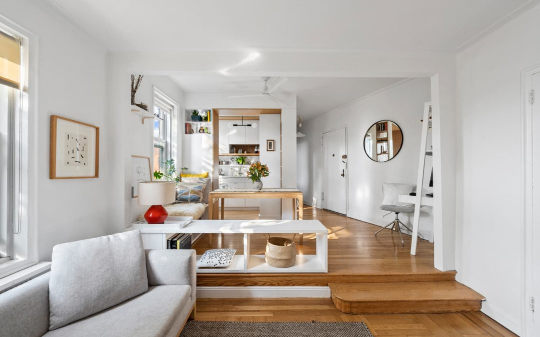 This Tiny One-Bedroom for Sale in Brooklyn Feels Much Larger