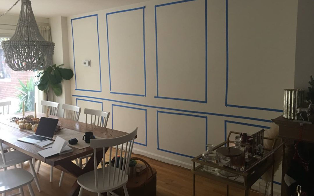 B&A: A $250 Project Adds Character and Elegance to a Plain Dining Room