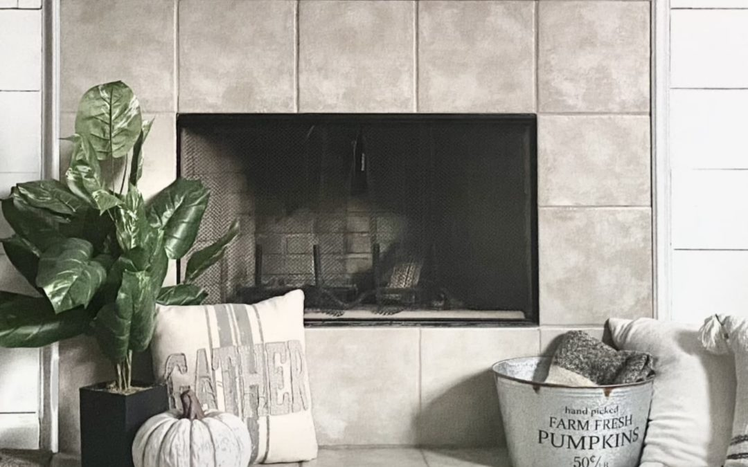 B&A: A Boring Fireplace Gets a Cozy $700 Redo Just in Time for the Holidays