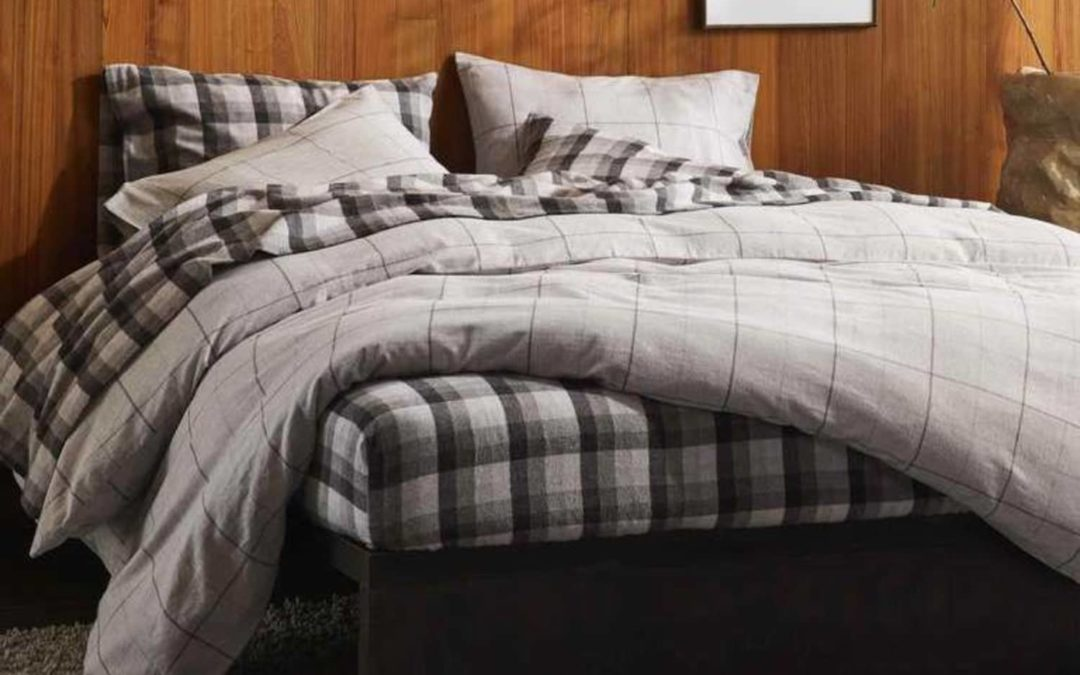 Brooklinen Just Debuted Their First Flannel Sheet Set — and They're So Cozy I Don't Want to Get Out of Bed
