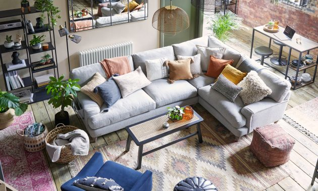 Family living room ideas – to create a comfortable family space that works for all